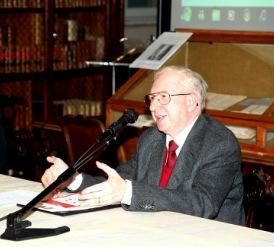 Prof. Giovanni Cordini, foto di Lorenzo Iorino, 2013.