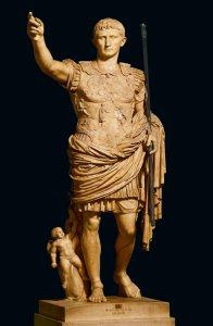 L'Imperatore Augusto, scultura.