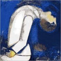 Marc Chagal, Uomo con la testa rovesciata, 1919. Olio su cartone, cm 57x47, collezione privata.