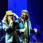 """Monica Guerritore e Giovanni Nuti, """"Mentre rubavo la vita"""" tour 2014, foto di Lorenzo Gelmini."""