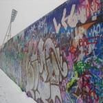 Muro di Berlino dopo il 9 Novembre 1989