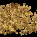 Fatimid period gold coins found in Sea port of Caesarea National Park