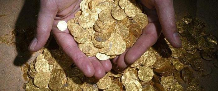 Trovare un tesoro diviene realtà
