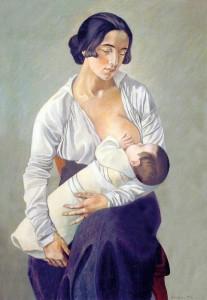 Gino Severini, Maternità, (1916)