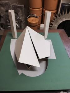 Modellino per un progetto realizzato in Giappone.