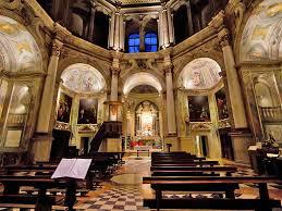 Interno Chiesa di Santa Maria in Canepanova, Pavia.
