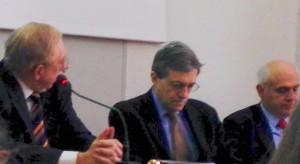 Prof.ri Giovanni Cordini, Bruno Nascimbene, Giampaolo Schiesaro, Università degli Studi di Pavia, 26 marzo 2015.