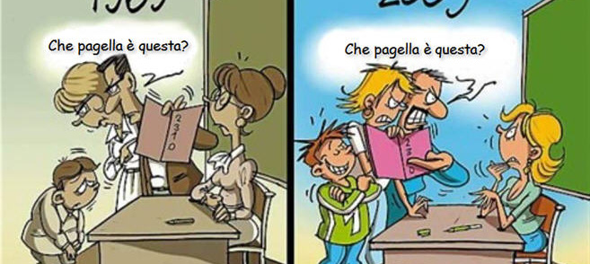 """""""Sono cambiate le cose"""": educazione dei figli"""