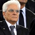 Il Presidente della Repubblica Italiana, Sergio Mattarella.