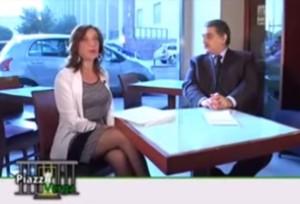 Dottoressa Caterina Vaccari, psicologa e giudice e avvocato Giuseppe Lipera.