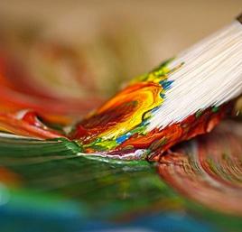 L'artista risponde chiarendo se per dipingere si deve per forza avere talento