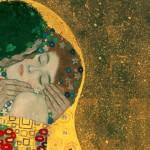 Il bacio, Klimt, particolare.