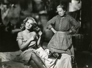 "Scena tratta dal film di Bunũel, ""Susana"" del 1951."