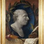 Giovanni Benini, Ritratto di Girolamo Pompei, olio su tela, cm 85×63.