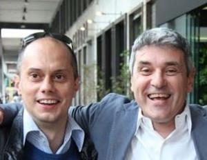 Jacopo Dalla Palma e Il Mario di radio Cluster.
