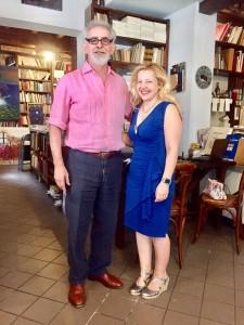 Fausto Pellegrin e Tiziana Mazzaglia, Libreria Cardano, Pavia.