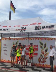 Premiazione, Trofeo Malossi, Circuito Tazio Nuvolari, Cervesina, Pavia, 10 giugno 2018.